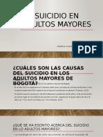Suicidio en Adultos Mayores