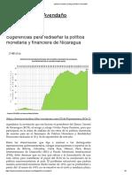 Política Monetaria _ Blog de Néstor Avendaño