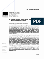 June 15 MRGCD Letter to ISC Re Intel Agreement