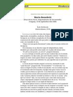 Los Pocillos, Mario Benedetti