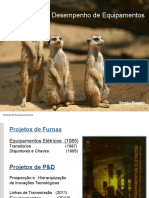 Tema i.1 - Desempenho Dos Equipamentos - Sergio Frontin