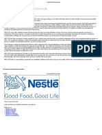 All About NESTLÉ _ Nestlé India