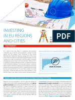 Factsheet Investing in EU Regions and Cities CoR