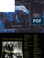 Digital Booklet - Ride the Lightning