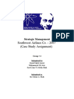 Strategic Management Cast Study Assignment
