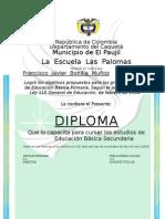Diploma Alfredo