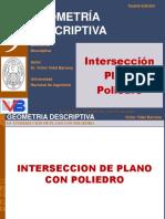 Intersección Plano Poliedro