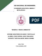 informe MINERÍA Y PETROLEO