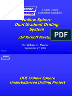 Dual Gradient Drilling
