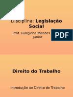 217684 Legislação I