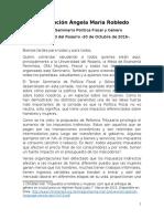 Intervención Ángela María Robledo 3 Seminario Género y Política Fiscal