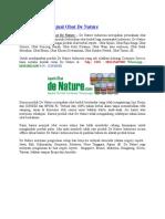 Apotik Yang Menjual Obat de Nature