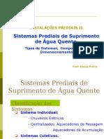 Docslide.com.Br Instalacoes Prediais II Sistemas Prediais de Suprimento de Agua Quente Tipos de Sistemas Componentes e Dimensionamento Prof a Eloisa Freire (1)