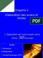 Elaboration Des Aciers