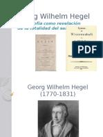 HEGEL - Filosofía Revelación de La Totalidad Del Ser