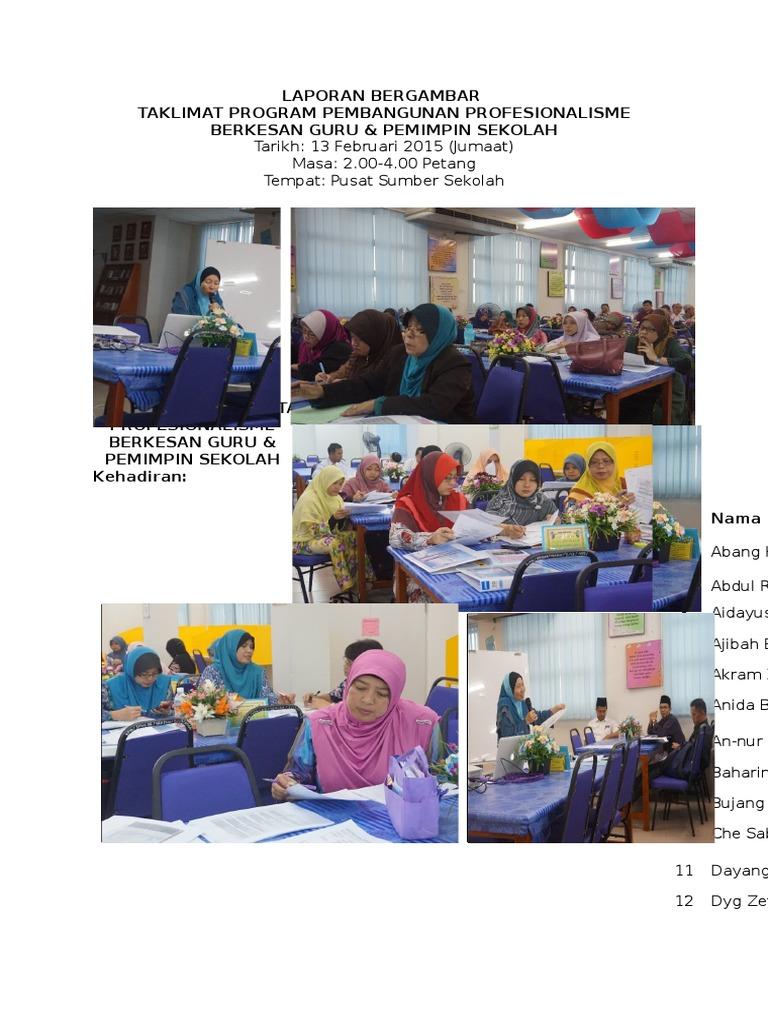 Laporan Bergambar Taklimat Pppbg 2015 Docx