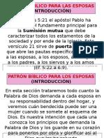 EL PATRÓN BIBLICO PARA LOS ESPOSAS.pptx