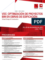 Misión Tecnológica BIM VDC 2016