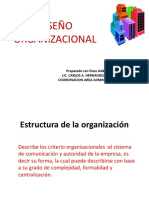 Presentacion - Diseño Organizacional