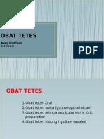 Obat Tetes