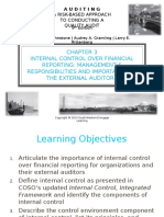 Internal Control over Financial Reporting (Chapter 3)