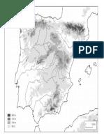 Mapa Fisico España
