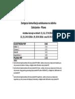 ZKA Celestynów-Pilawa Ważny w Dniach 15 XI-01 XII (14 XI)