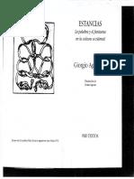 Agamben, Giorgio - Estancias (La palabra y el fantasma en la cultura occidental).pdf