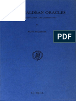 Ruth Majercik the Chaldean Oracles Text, Translation, And Commentary 1989 (1)