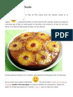 Torta de Piña Volteada