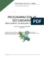 135785871 Programacion de 4º