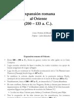 5. Expansión Romana Al Oriente.