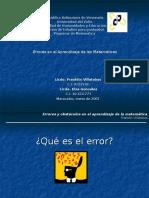 Presentaciondeerrores 111229104532 Phpapp01 (1)