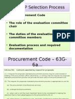 Proposal Evaluation Process