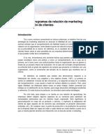 M4 Lectura 8 - Programas de Relación de Marketing Para Retención de Clientes