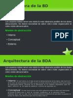 02 Arquitectura de La BD