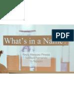 Formula Writing Presentations