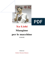 Libro Poesie Mangime Per Le Macchine