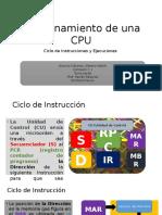 Funcionamiento de Una CPU