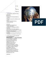 Factores Que Apoyan La Globalización