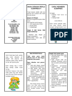 Leaflet Anak Demam