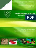 UDA Seleccion Del Metodo de Explotacion