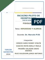 Inmunidad y Alergia Grupo 5