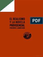 Fredric Jameson El Realismo y La Novela Providencial