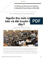 Doanh Thu Bao Chi