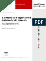 Villavicencio_articulo_imputacion Objetiva en La Jurisprudencia Peruana