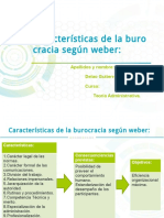 Caracteristicas de La Burocracia Según Weber