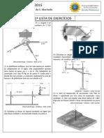 Lista Te Exercício de Mecânica (UFRJ)