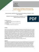 Sistematização de método para modelagem tridimensional de patrimônio arquitetônico mediada pelo Autodesk 123D Catch