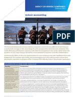 Impact on Mining Companies Changes to Joint Venture Accounting